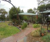 Flagstaff Oval kindergarten grounds and bush landscape