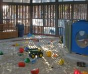 sand pit areas